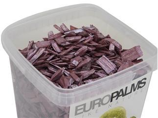 Europalms Deko-Holz, cassis, 5,5l Eimer