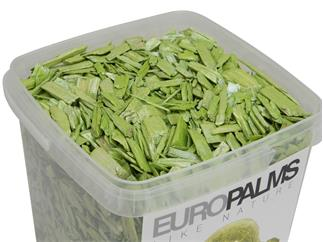 Europalms Deko-Holz, limette, 5,5l Eimer