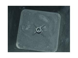Dekotopf STONA-77, rund, grau