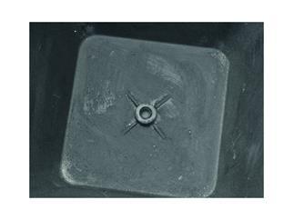 Dekotopf STONA-62, rund, grau