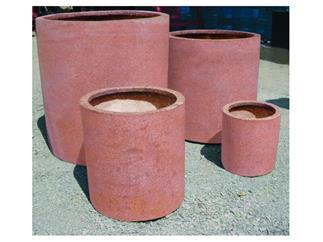 """Übertopf o """"Terracotta-Optik"""" D40/H=40cm"""