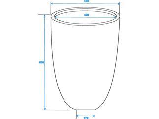 LEICHTSIN CUP-69 braun, glänzend