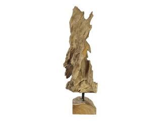 Europalms Wurzelobjekt Teak natur 60cm