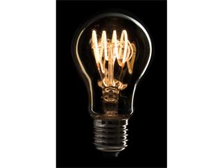 Showtec LED Filament Bulb E27, 5W, dimmbar, Gold-Glasabdeckung, A60
