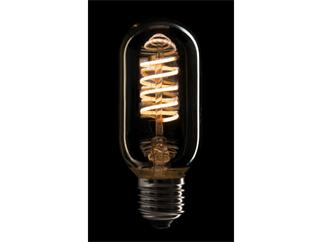 Showtec LED Filament Bulb E27, 5W, dimmbar, Gold-Glasabdeckung, T45