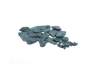 Schiefersplitt, schwarz, ca. 13KG
