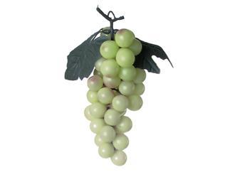 Europalms Trauben mit Blättern, grün - Kunstpflanze