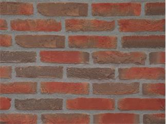 Europalms Dekostoff, Backsteine, 150x100cm