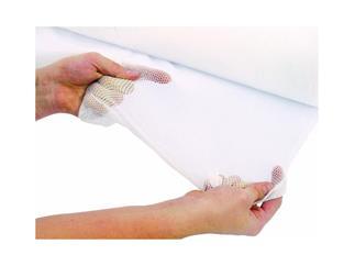 Deko Tüll Sprinkler Stretch FlhDIN4102 weiß 1.95/1m meterware