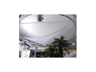 EUROPALMS Dekonetz Kreis Durchmesser = 12m