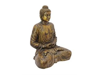 EUROPALMS Buddha, antik-gold, 120cm