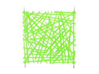 europalms Raumteiler, Rod, 4Stk 29x29cm, Grün