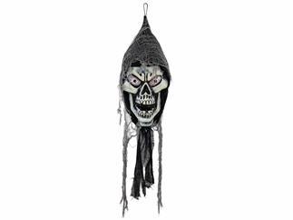 EUROPALMS Halloween Hängender Schädel, 120cm