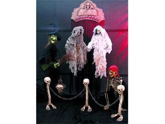 Halloween Schädellaterne