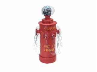 EUROPALMS Halloween Feuerhydrant, 28x13x13cm