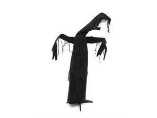 Europalms Halloween Schwarzer Baum, animiert, LED-Augen & Sound