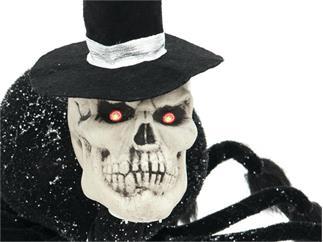 EUROPALMS Halloween Spinne Bräutigam schwarz