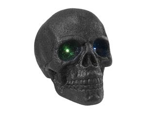 Europalms Halloween Riesen-Totenkopf 35x35 mit LED