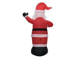 EUROPALMS Aufblasbare Figur Weihnachtsmann, 300cm