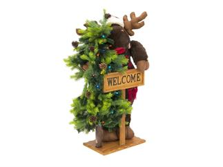 EUROPALMS Weihnachtselch, stehend, ca. 100cm