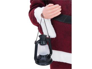 Europalms Weihnachtsmann mit Bäumchen, ca. 120cm