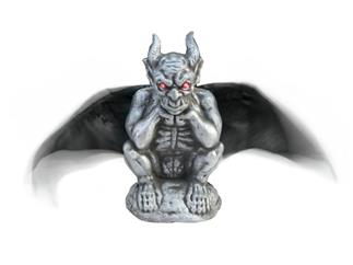 EUROPALMS Halloween Gargoyle, animiert, 31cm