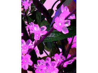 LED-Blütenzweig 1,2m IP44 160 LED, pink