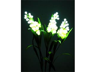 Europalms Aronstab 3er Set weiß 85cm 60 LEDs