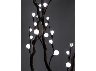 Korkenzieher-Zweig weiß 3St.120cm 54 LEDs