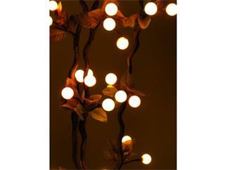 Torfmyrte-Zweige 3 St. 180cm 54 LEDs