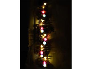 Rosenläufer 120cm 20 LEDs für Batteriebetrieb