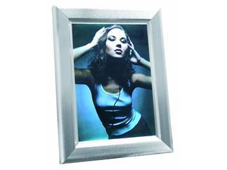 Reklamewand DIN A3 beleuchtet, Aluminium matt, Leuchtrahmen