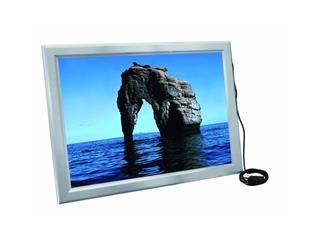 Reklamewand DIN A1 beleuchtet, Aluminium matt, Leuchtrahmen