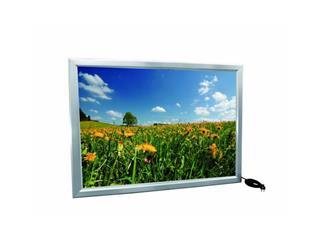 Reklamewand DIN A0 beleuchtet, Aluminium matt, Leuchtrahmen