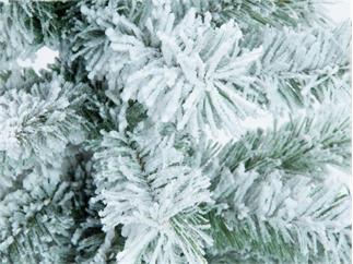Europalms Tannenbaum / Weihnachstbaum / Christbaum beflockt, 150cm