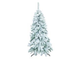 Europalms Tannenbaum / Weihnachstbaum / Christbaum beflockt, 180cm