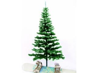 Tanne beschneit inkl. Ständer 240cm, Christbaum, Weihnachtsbaum