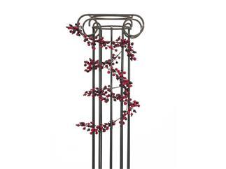 Europalms Beerengirlande gemischt 180cm - mit Beeren in verschiedenen Rottönen