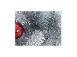 Europalms Kunststoff Tannenbaum Futura silber-metallic / Weihnachtsbaum / Christbaum 210cm