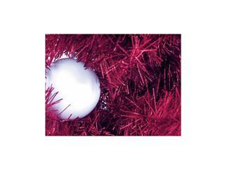 Europalms Kunststoff Tannenbaum Futura violett-metallic / Weihnachtsbaum / Christbaum 210cm