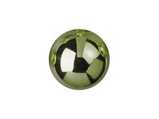 6x EUROPALMS Dekokugel 6cm, hellgrün, glänzend