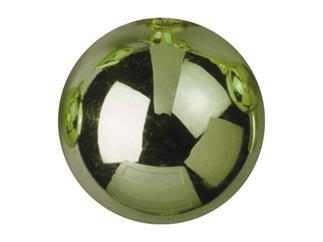 48x EUROPALMS Christbaumkugel 3,5cm, hellgrün, glänzend