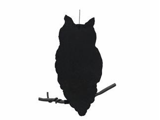 EUROPALMS Silhouette Eule, 62cm