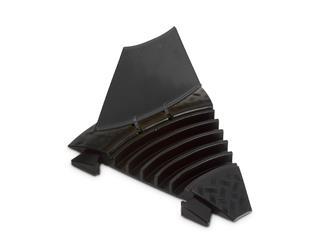 Defender MIDI C BLK - 45° Biegung für Kabelbrücken 5 Kanäle, schwarz