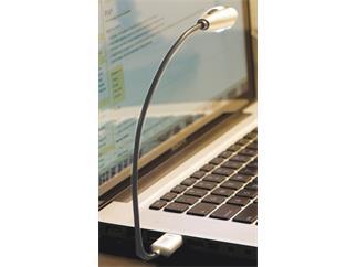 König & Meyer 85682 2 LED USB Light »Mighty Bright« - silber