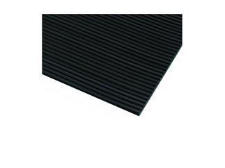 Defender 85900 B - Feinriefenmatte schwarz 1 m x 8 m
