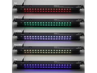 "Adam Hall 19"" Parts 87451 PRO C 19"" LED Rack Light 1 HE Multicolor"