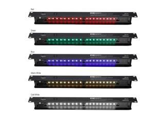 "Adam Hall 19"" Parts 87451 SMART C 19"" LED Sensor Rack Light 1 HE Multicolor"