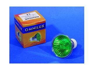 OMNILUX GU-10 230V/50W 2000h 25° grün