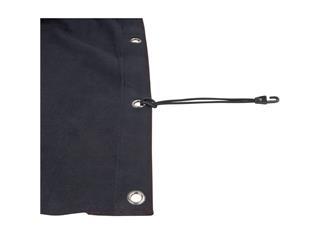 Showtec Backdrop Molton, schwarz 3m(B) x 6m(H)